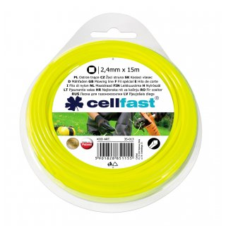 Ostrze tnące - kwadrat 2,4 x 15 CELL-FAST