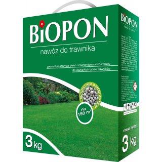 Nawóz do trawnika 3kg BIOPON