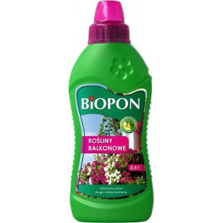 Nawóz do roślin balkonowych 0,5l BIOPON