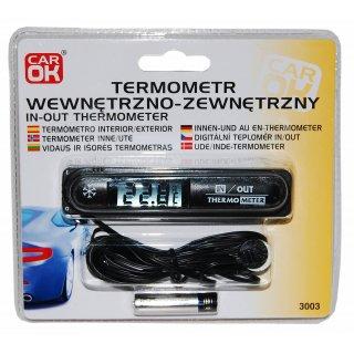 Termometr wewnetrzo-zewnętrzny PROFAST