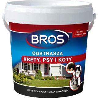 Preparat odstraszający krety psy i koty 350 ml BROS