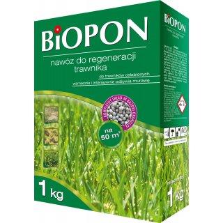 Nawóz do regeneracji trawnika 1kg BIOPON