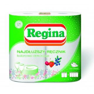 Ręcznik kuchenny papierowy z nadrukiem 2 szt REGINA