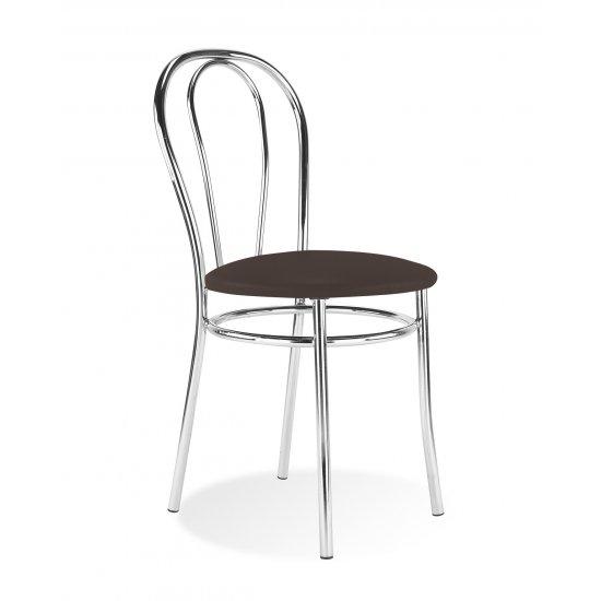 Krzeslo Tulipan Chrome Venge