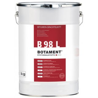 Botament Botazit B 98L 12kg Bitumiczna napraw. masa szpachlowa do dachów