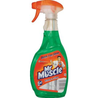 MR.MUSCLE rozp.płyn d/szyb ZIELONY 500ml op=12