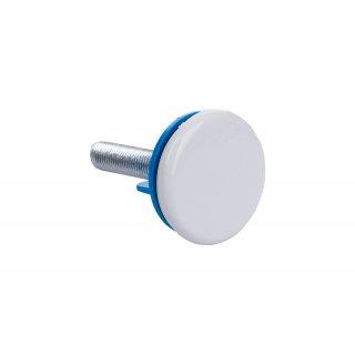 Zaślepka umywalki biała półautomatyczna