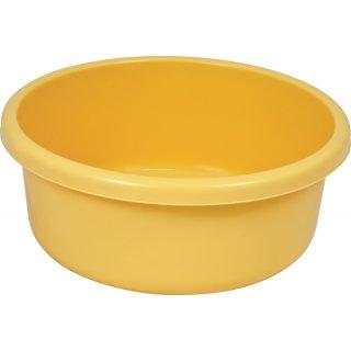 Miska okrągła 31 cm żółta GALICJA