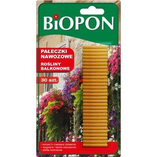 Pałeczki nawozowe do roślin balkonowych 30 szt BIOPON