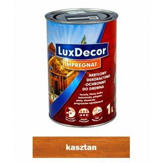 Imregnat do drewna Luxdecor kasztan 1l PRIMACOL
