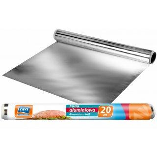 Folia aluminiowa 20mx30cm rolka RAVI