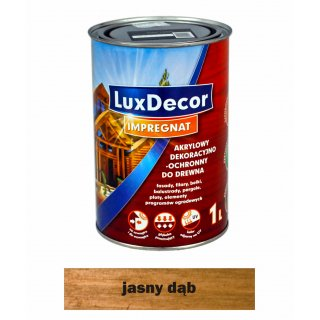 Imregnat do drewna Luxdecor jasny dąb 1l PRIMACOL