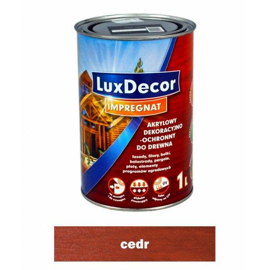 Imregnat do drewna Luxdecor cedr 1l PRIMACOL