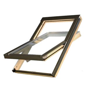 Okno dachowe TLP 78 x 140 PVC OptiLight KRONMAT