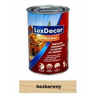 Imregnat do drewna Luxdecor bezbarwny 1l PRIMACOL