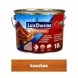Imregnat do drewna Luxdecor kasztan 10l PRIMACOL