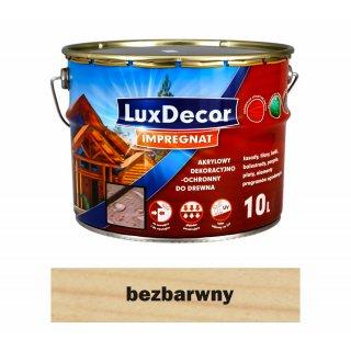 Imregnat do drewna Luxdecor bezbarwny 10l PRIMACOL