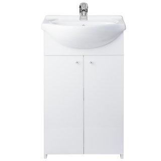 Szafka łazienkowa z umywalką Demo 50 cm ELITA