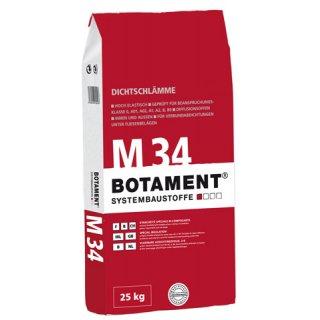 Botament Botazit M 34  25kg  Zaprawa uszczelniająca