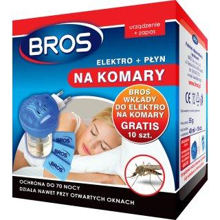 Elektryczny odstraszacz komarów elektrofumigator BROS