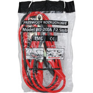 Kable rozruchowe 200 A 2,5 m PROFAST