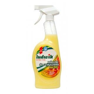 Mleczko do czyszczenia kuchni w sprayu 750 ml LUDWIK