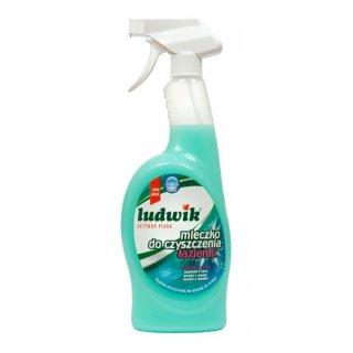 Mleczko do czyszczenia łazienki w sprayu 750 ml LUDWIK