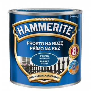 Farba na rdzę połysk niebieski 0,25 L Hammerite AKZO
