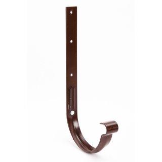 GALECO hak metalowy PVC 150 ciemnobrązowy