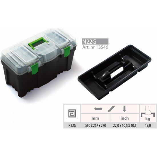 Skrzynka narzędziowa Green box 22 PROSPERPLAST