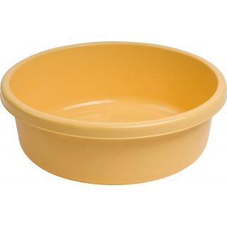 Miska okrągła 45 cm żółta GALICJA