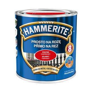 Farba Hammerite Połysk Czerwony 0,7L