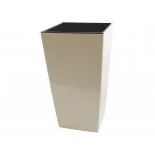 Doniczka Finezja 25 cm krem LAMELA