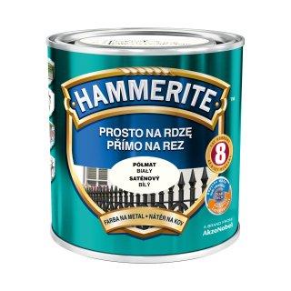 Farba na rdzę półmat biały 0,7 L Hammerite AKZO