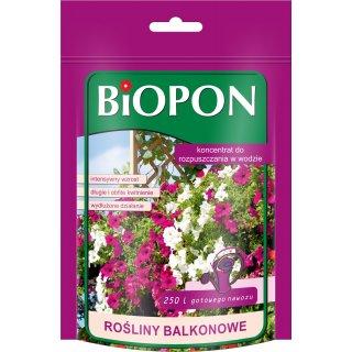 Koncentrat rozpuszczalny do roślin balkonowych 250g BIOPON