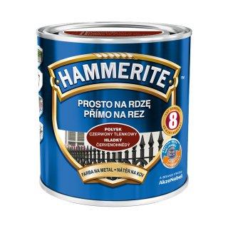Farba na rdzę połysk czerwony tlenkowy 0,7 L Hammerite AKZO