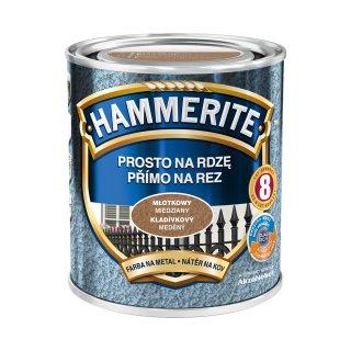 Farba do metalu HAMMERITE Młotkowy Miedziany 0,7L
