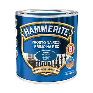 Farba na rdzę połysk niebieski 0,7 L Hammerite AKZO