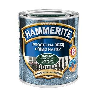 Farba do metalu hammerite ciemnozielony 0,7l AKZO NOBEL