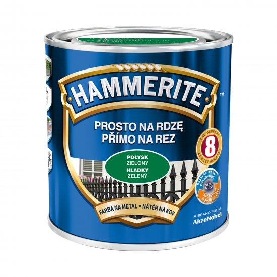 Farba na rdzę połysk zielony 0,7 L Hammerite AKZO