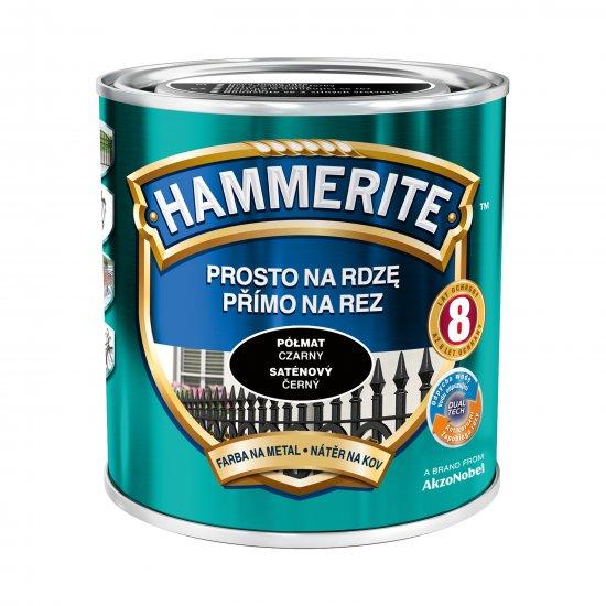 Farba na rdzę półmat czarny 0,7 L Hammerite AKZO