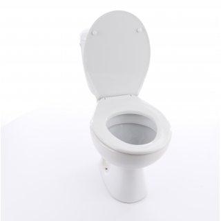 Kompakt WC President 3/6 odpływ poziomy z deską PP CERSANIT