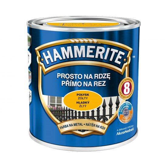 Farba na rdzę połysk żółty 0,7 L Hammerite AKZO