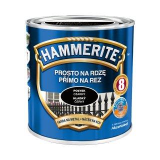 Farba na rdzę połysk czarny 0,7 L Hammerite AKZO