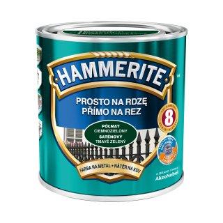 Farba na rdzę półmat ciemnozielony 0,7 L Hammerite AKZO