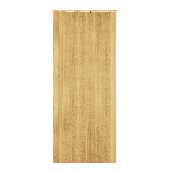 Drzwi Harmonijkowe ST4 Forte Jasny Dąb STANDOM
