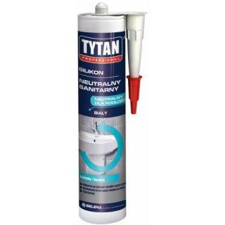Silikon sanitarny biały 310 ml TYTAN