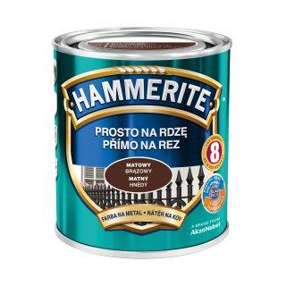 Farba na rdzę mat brązowy 0,7 L Hammerite AKZO
