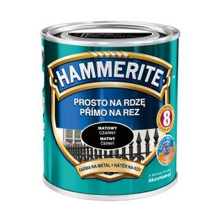 Farba na rdzę mat czarny 0,7 L Hammerite AKZO