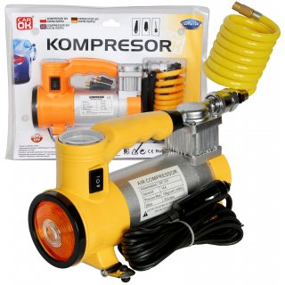 Kompresor 12V 10 atmosfer+ Lampa HD PROFAST